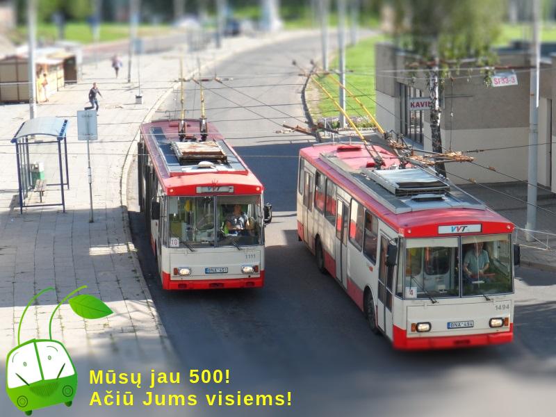 Facebook 500 (Škoda 14Tr 1111, 1494)