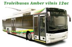 Troleibusas Amber vilnis 12ac