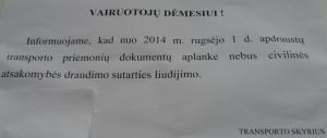2014-09-01: skelbimas dėl draudimo