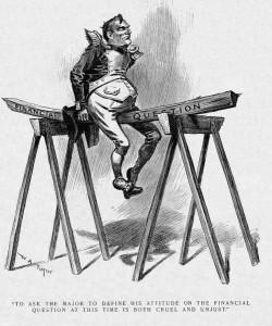 "W.A.Rogers karikatūra, žurnalas ""Harper's Weekly"