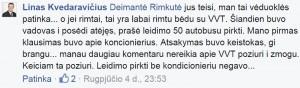 2015-08-04 Vicemeras L.Kvederavičius apie 50 autobusų be kondicionierių