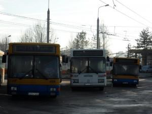 Autobusai 2-ajame troleibusų parke