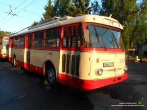 Istorinis troleibusas Škoda 9Tr (1387)