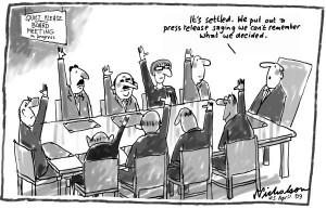 Valdybos susirinkimas