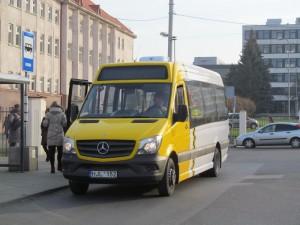"""Tikėtino laimėtojo """"Kautra"""" mikroautobusas. Nuotraukos autorius: Jurgis Švilpa"""