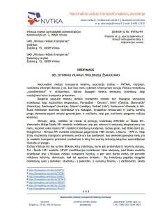 NVTKA raštas dėl istorinių troleibusų, 1 psl.