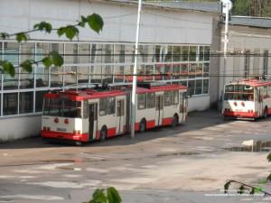 Škoda 15Tr (2604) nukeliavo į sunaikinto 2600 vietą
