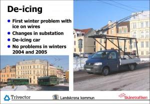 De-icing - Landskrona