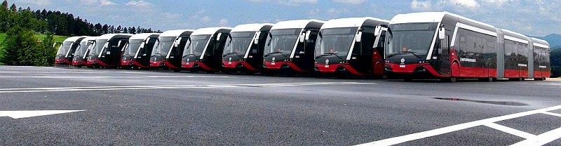 Malatijos (Turkija) troleibusai. Foto: motas.com.tr